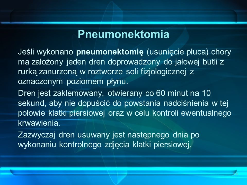 Pneumonektomia
