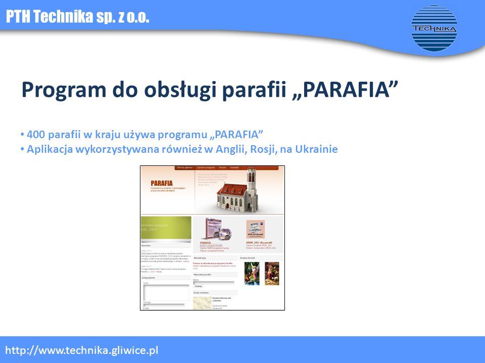 """Program do obsługi parafii """"PARAFIA"""