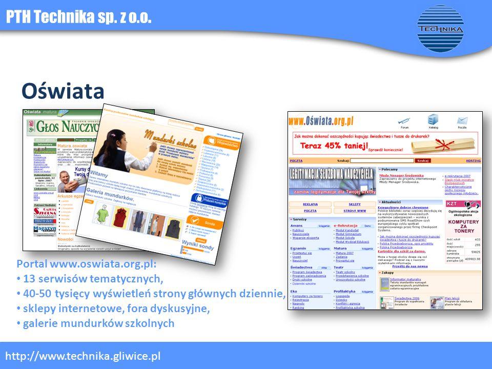 Oświata PTH Technika sp. z o.o. Portal www.oswiata.org.pl:
