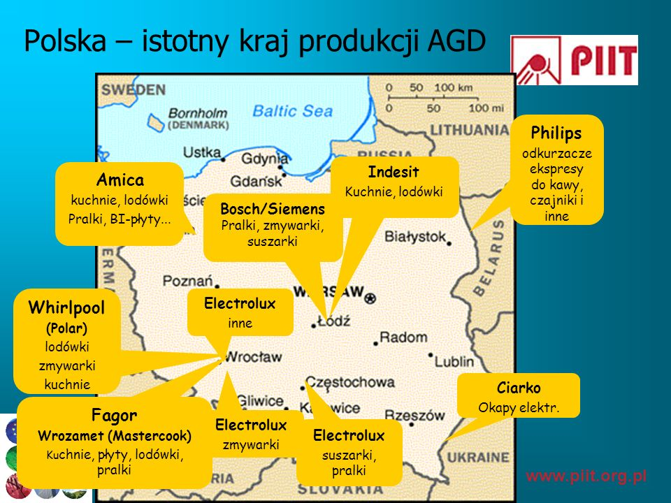 Polska – istotny kraj produkcji AGD