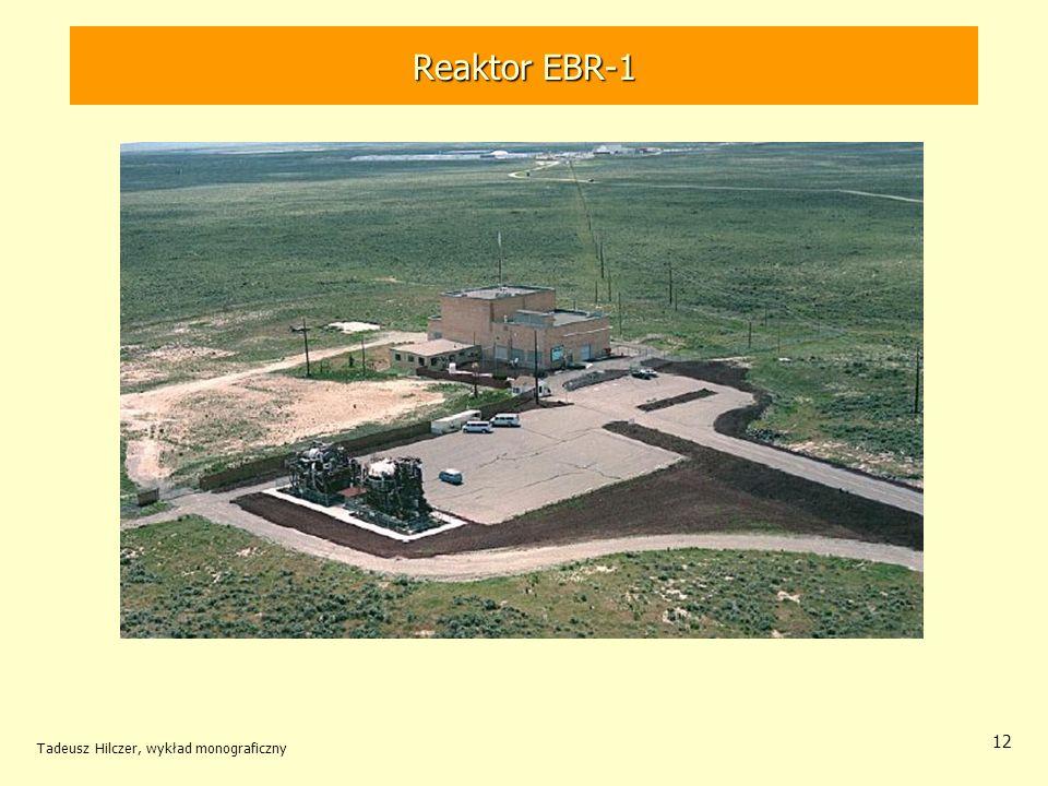 Reaktor EBR-1 Tadeusz Hilczer, wykład monograficzny