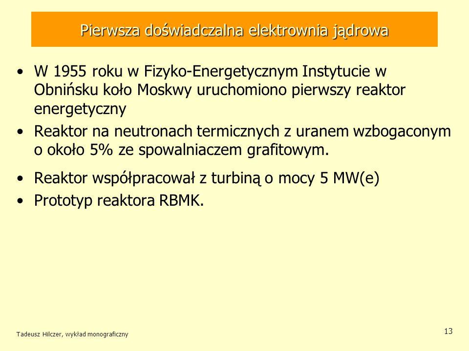 Pierwsza doświadczalna elektrownia jądrowa