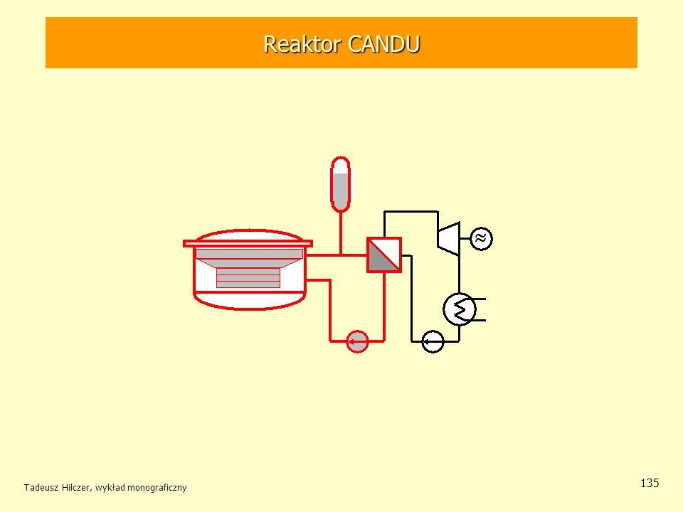 Reaktor CANDU Reaktor CANDU Tadeusz Hilczer, wykład monograficzny