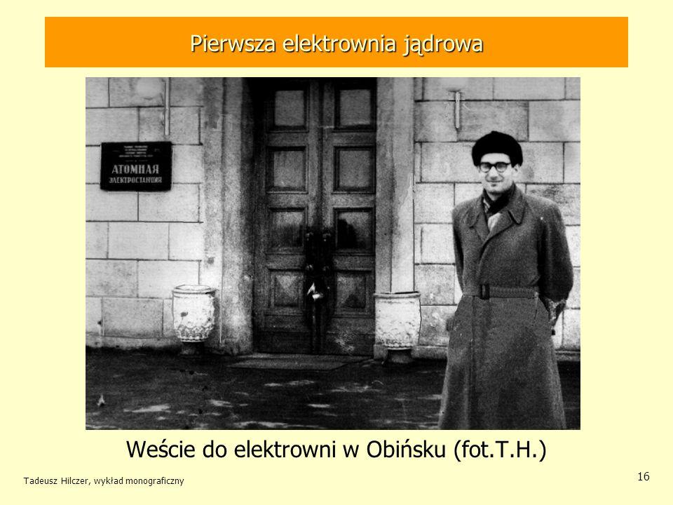 Pierwsza elektrownia jądrowa