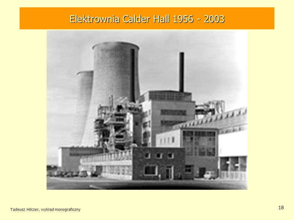Elektrownia Calder Hall 1956 - 2003
