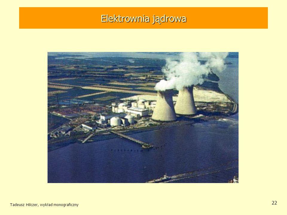 Elektrownia jądrowa Tadeusz Hilczer, wykład monograficzny