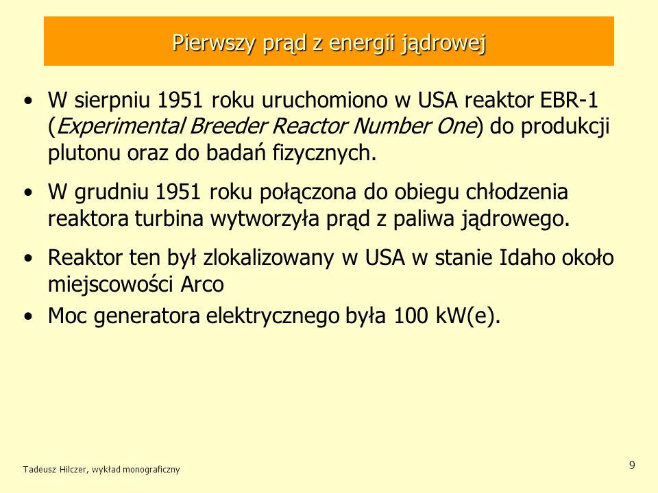 Pierwszy prąd z energii jądrowej