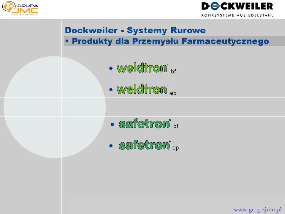 Dockweiler - Systemy Rurowe • Produkty dla Przemysłu Farmaceutycznego