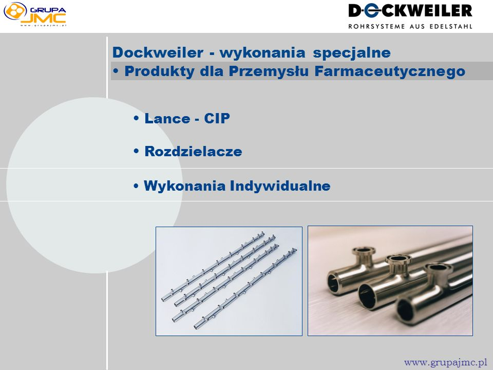Dockweiler - wykonania specjalne