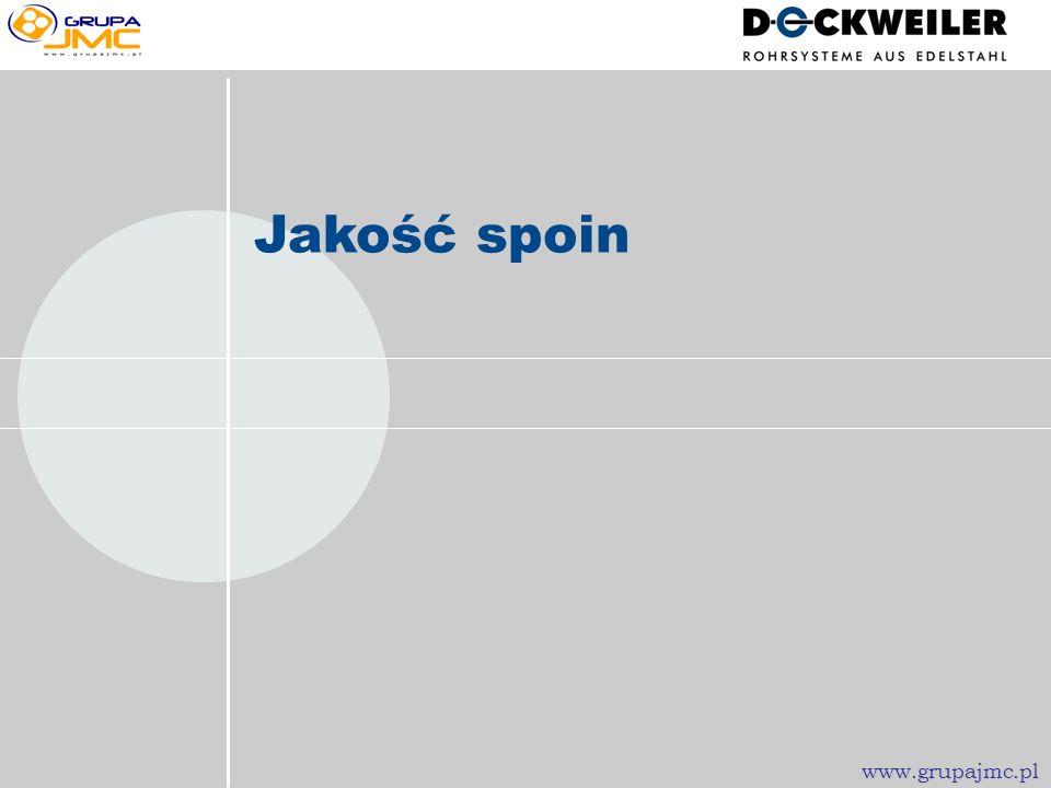Jakość spoin www.grupajmc.pl