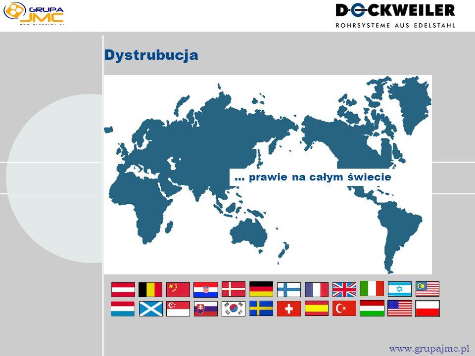 Dystrubucja ... prawie na całym świecie www.grupajmc.pl