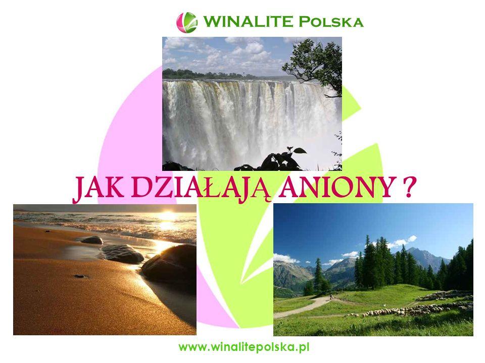 JAK DZIAŁAJĄ ANIONY WINALITE Polska www.winalitepolska.pl
