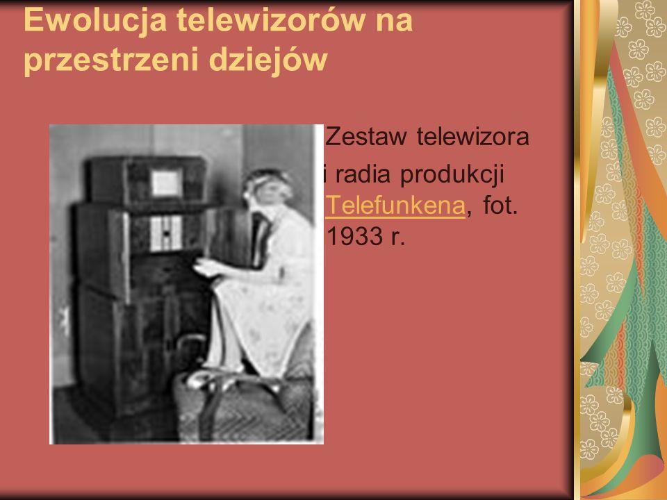 Ewolucja telewizorów na przestrzeni dziejów