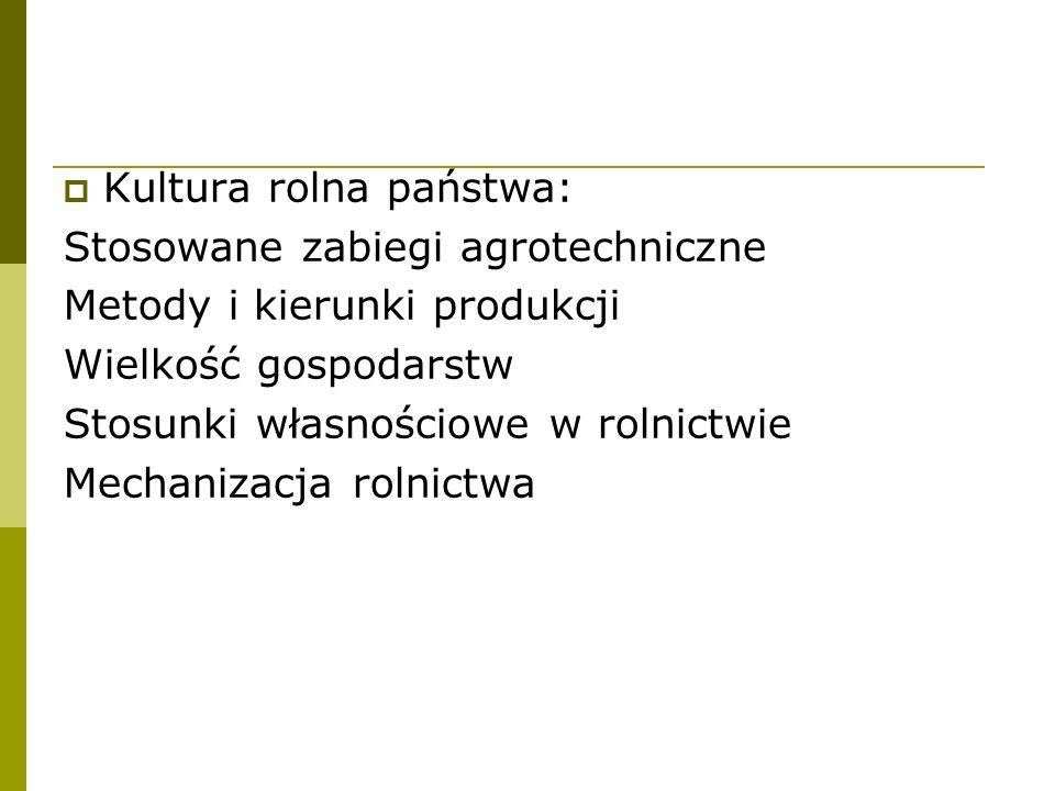 Kultura rolna państwa:
