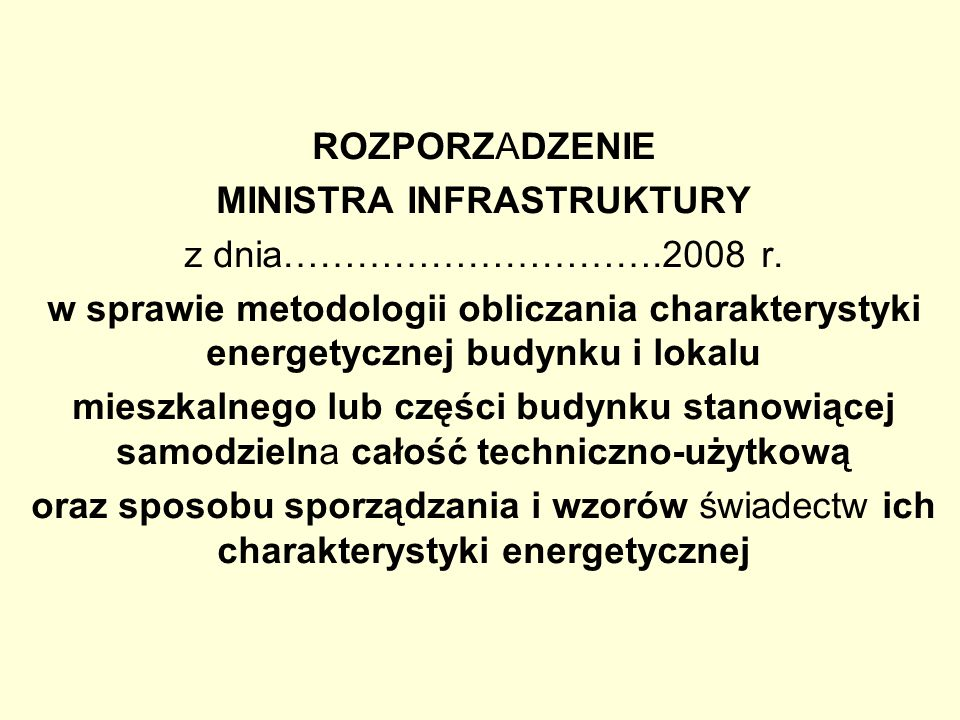 MINISTRA INFRASTRUKTURY