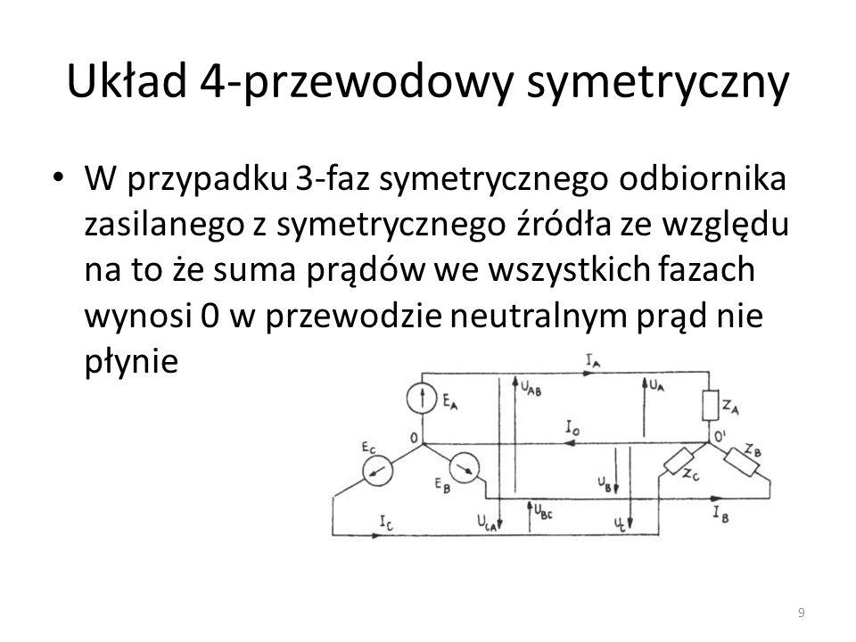 Układ 4-przewodowy symetryczny