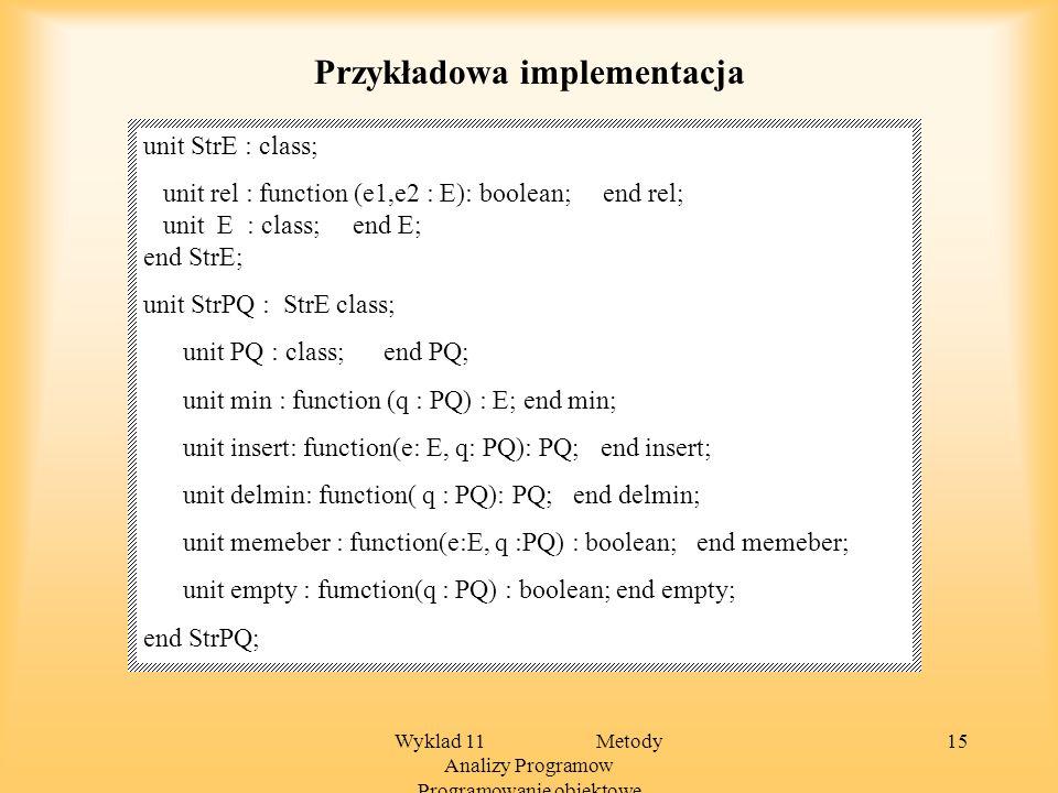 Przykładowa implementacja