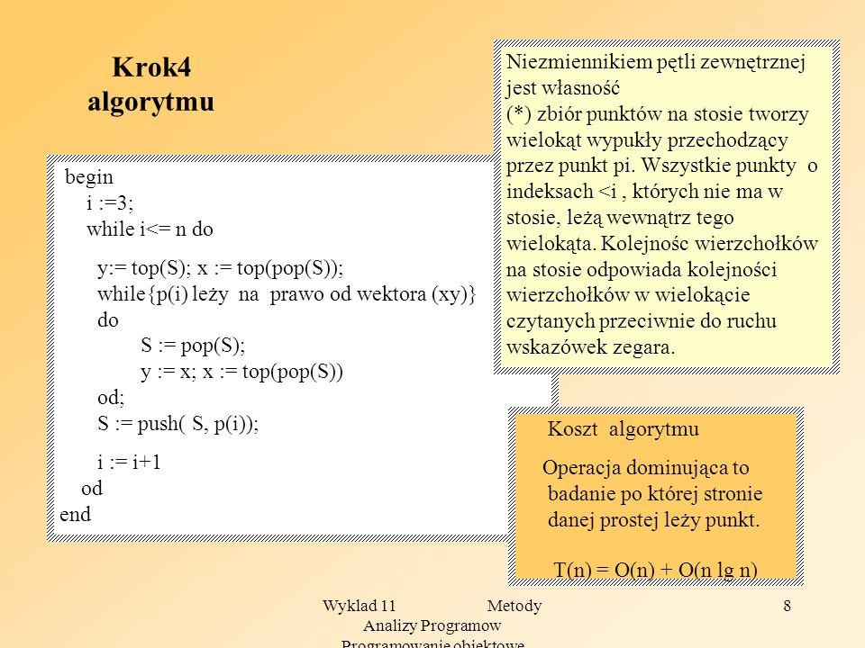 Wyklad 11 Metody Analizy Programow Programowanie obiektowe