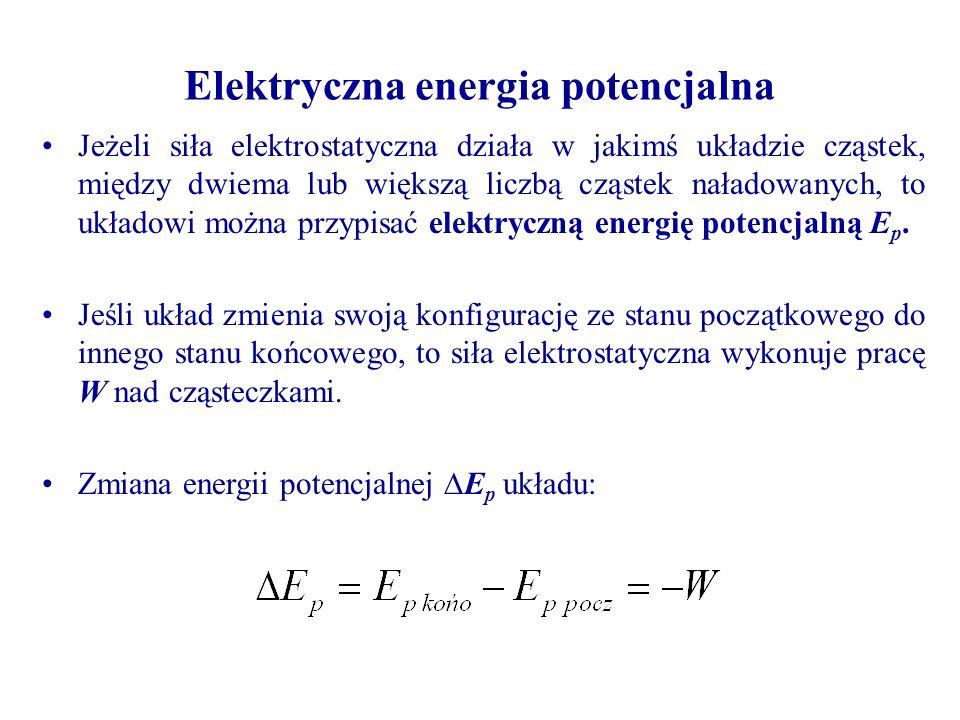 Elektryczna energia potencjalna