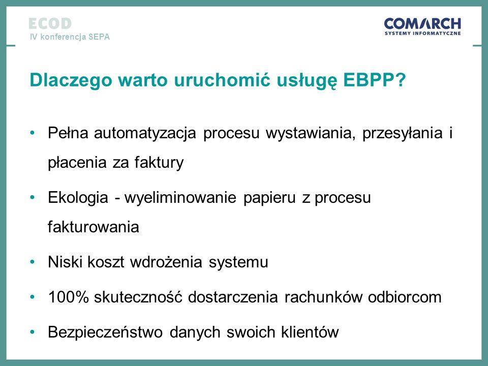 Dlaczego warto uruchomić usługę EBPP