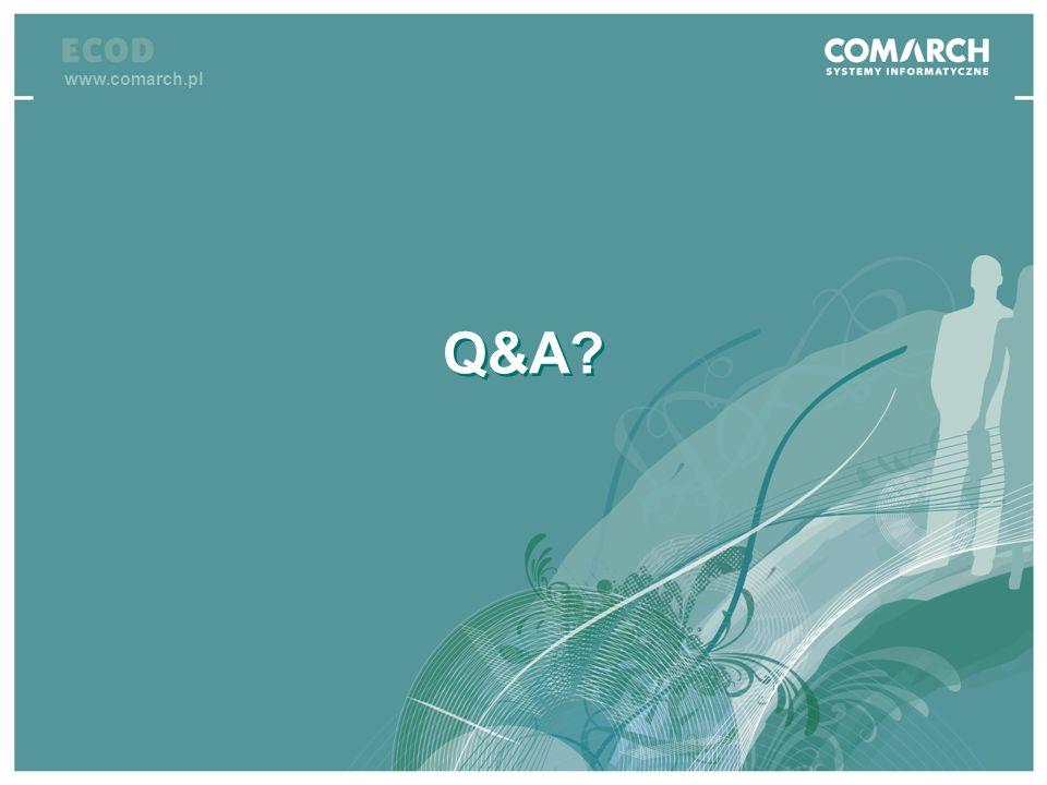 www.comarch.pl Q&A