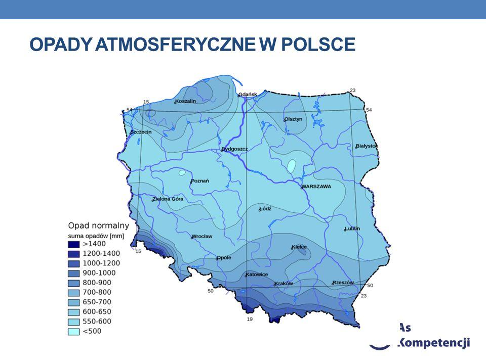Opady atmosferyczne w Polsce
