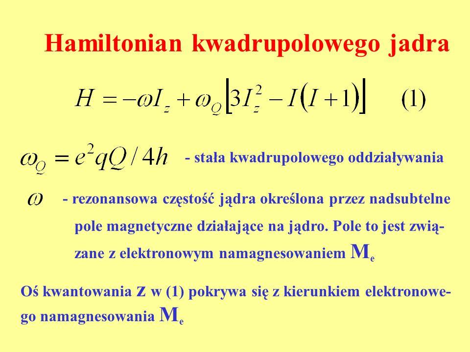 Hamiltonian kwadrupolowego jadra