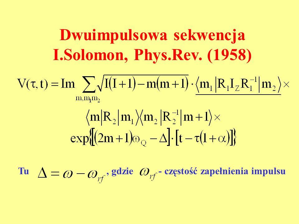 Dwuimpulsowa sekwencja