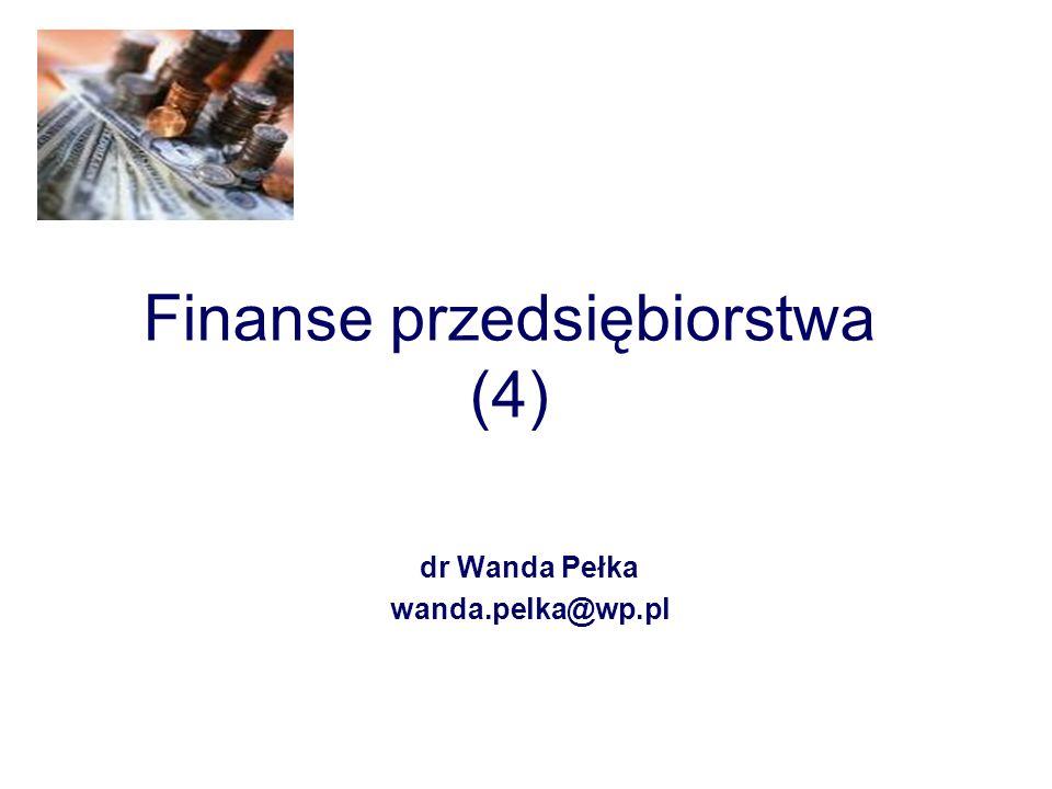 Finanse przedsiębiorstwa (4)