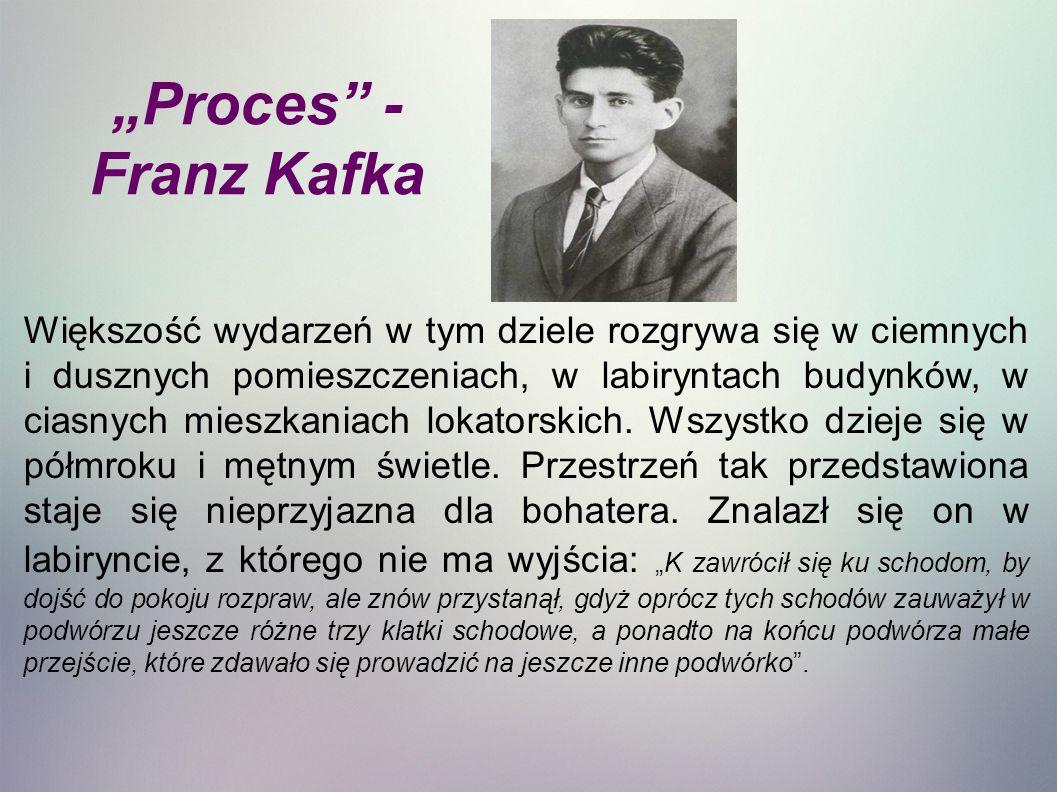 """Proces - Franz Kafka"
