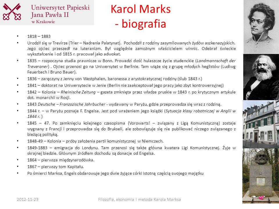 Karol Marks - biografia