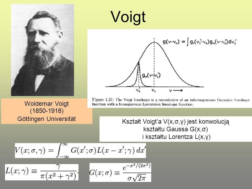 Voigt Woldemar Voigt (1850-1918) Göttingen Universität