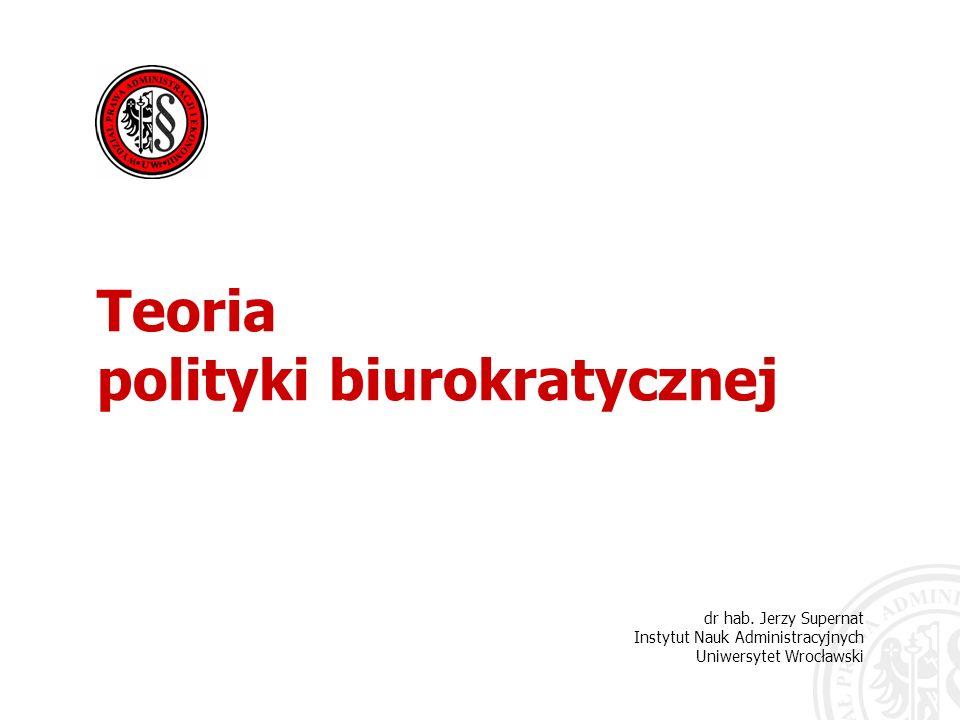 polityki biurokratycznej