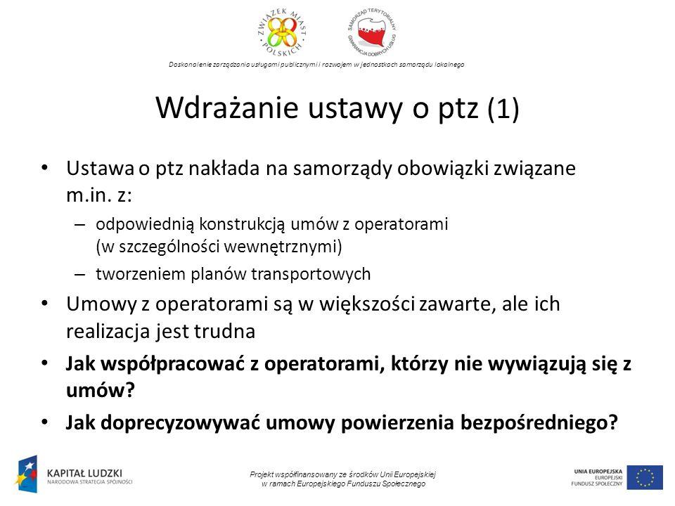 Wdrażanie ustawy o ptz (1)