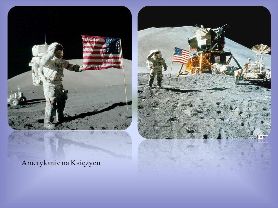 Amerykanie na Księżycu