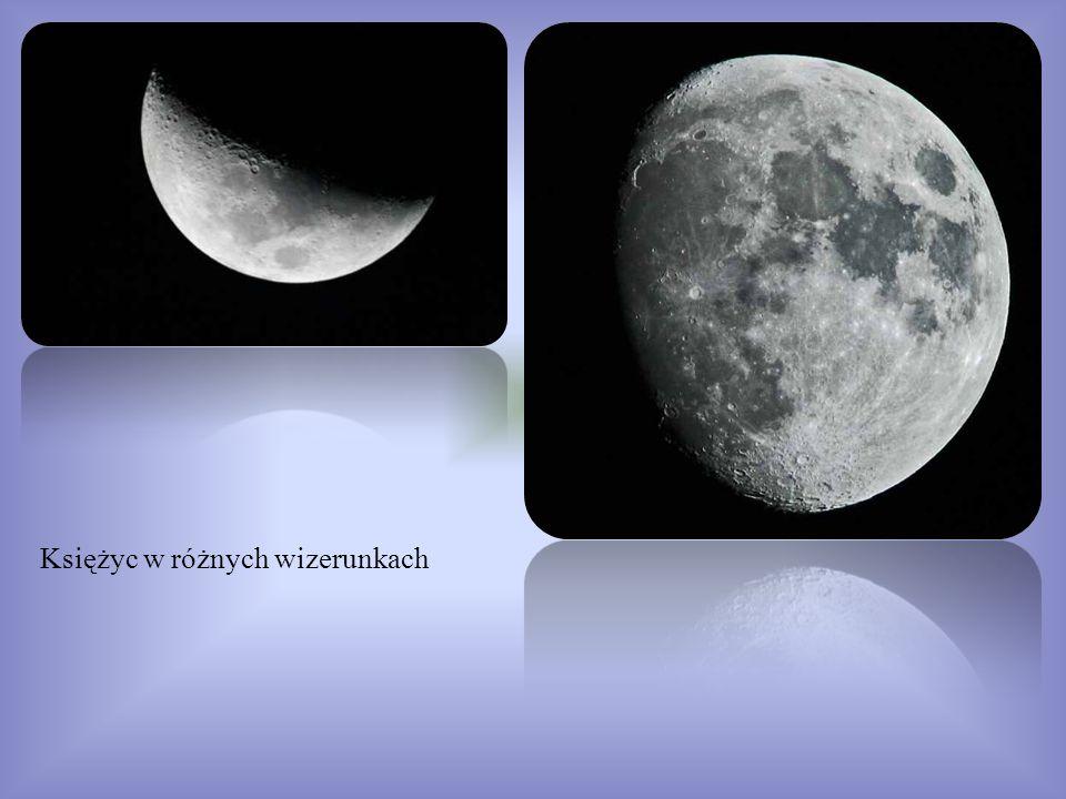 Księżyc w różnych wizerunkach