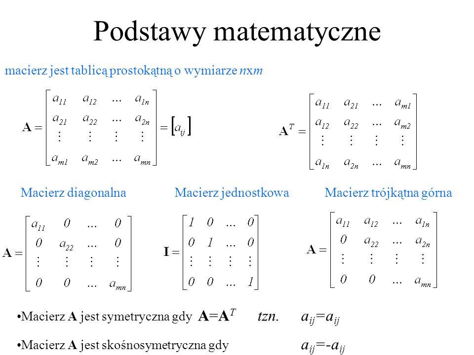 Podstawy matematyczne