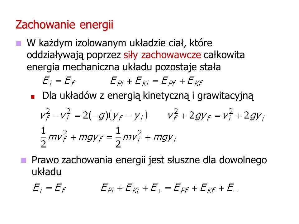 Zachowanie energii