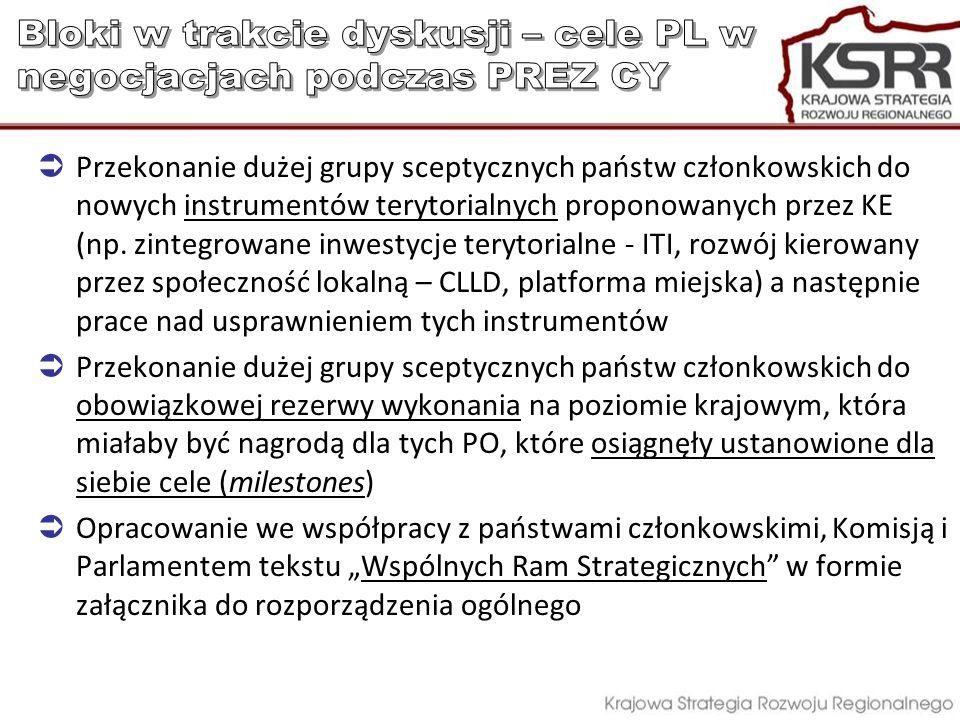 Bloki w trakcie dyskusji – cele PL w negocjacjach podczas PREZ CY