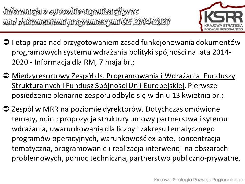 Informacja o sposobie organizacji prac
