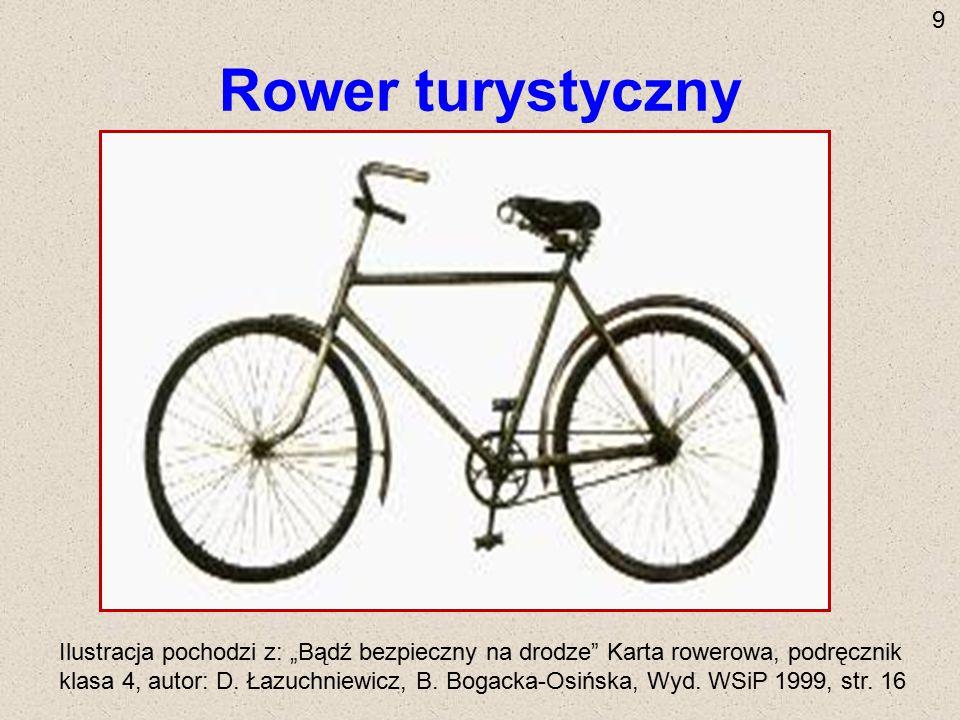 9 Rower turystyczny.