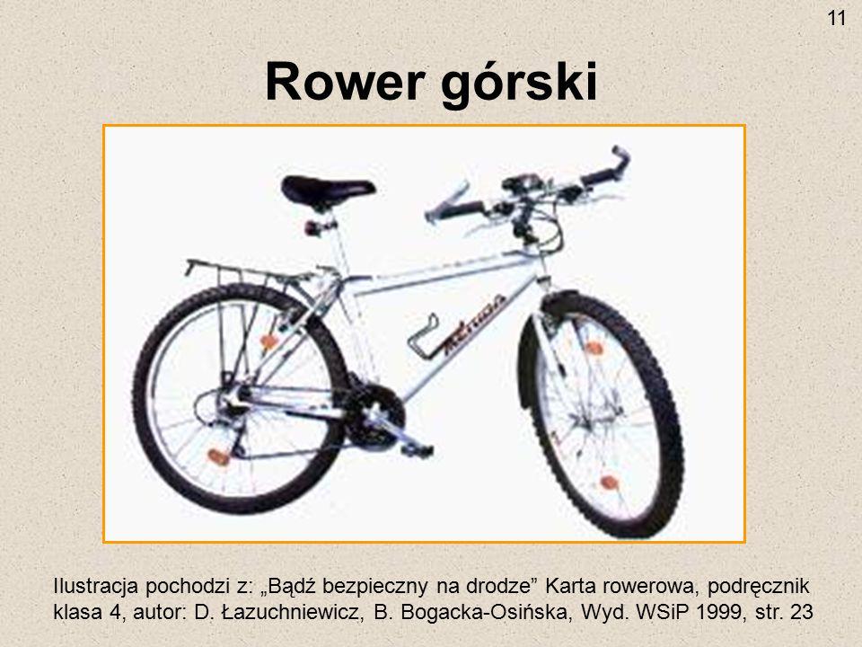 11 Rower górski.