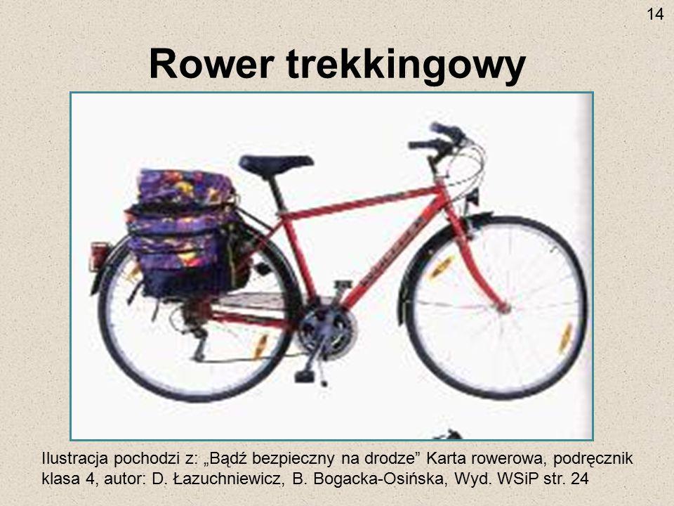 14 Rower trekkingowy.