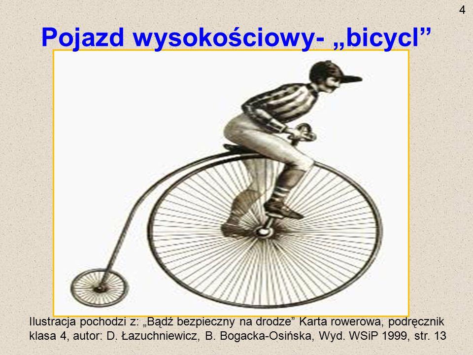 """Pojazd wysokościowy- """"bicycl"""