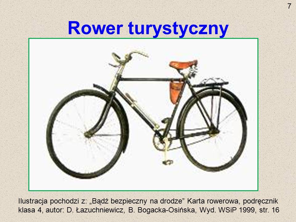 7 Rower turystyczny.