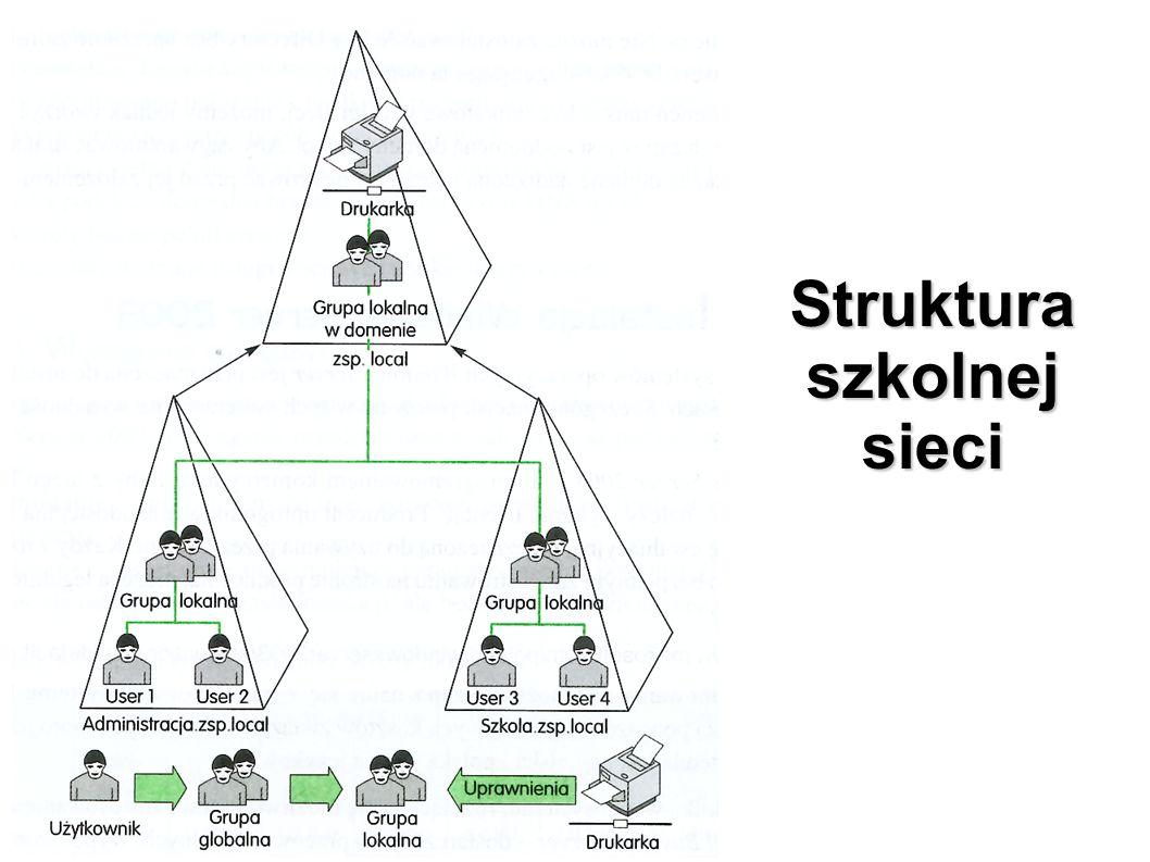 Struktura szkolnej sieci