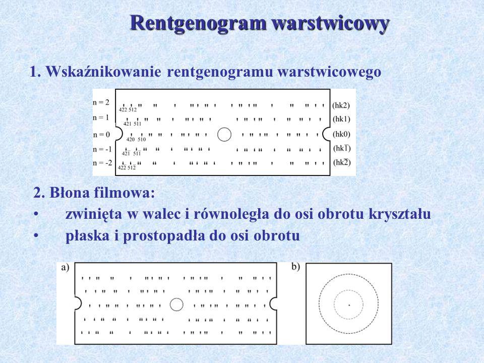 1. Wskaźnikowanie rentgenogramu warstwicowego