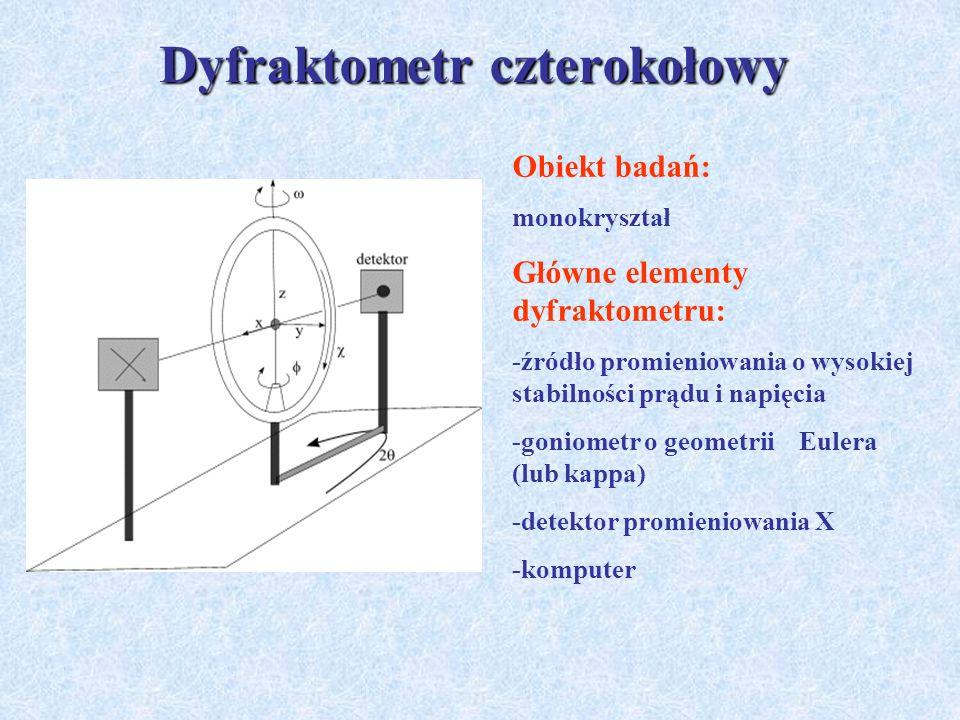 Dyfraktometr czterokołowy