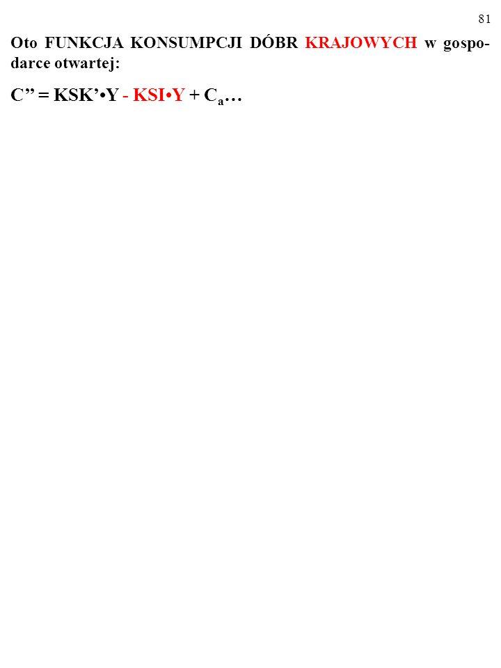 C'' = KSK'•Y - KSI•Y + Ca…