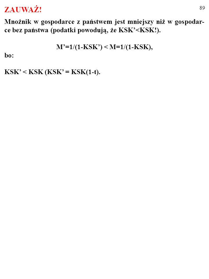 M'=1/(1-KSK') < M=1/(1-KSK),